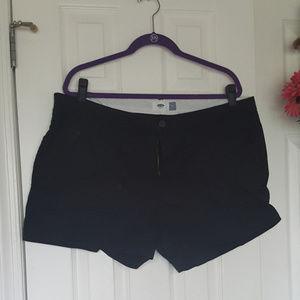 Old Navy Black Shorts 16